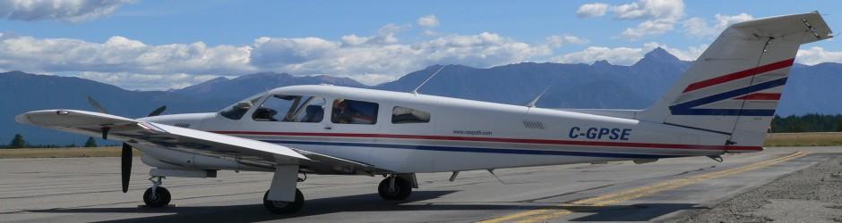Piper Turbo Arrow IV - Cranbrook, BC