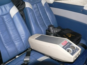 Rear seats with oxygen